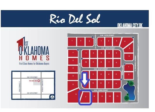 7208 SW 122nd Street, Oklahoma City, OK 73173 (MLS #860266) :: Homestead & Co