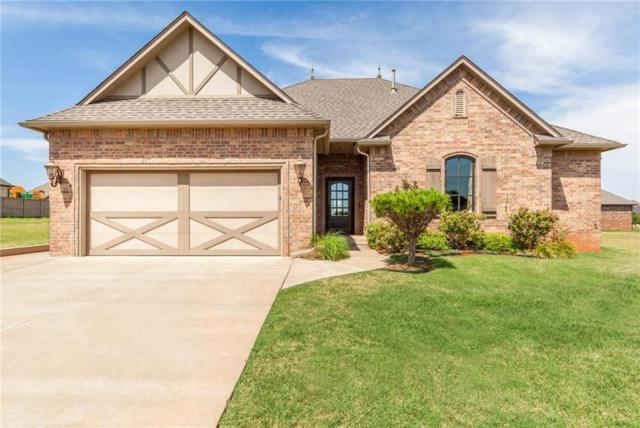 16745 Little Leaf Lane, Edmond, OK 73012 (MLS #860422) :: Homestead & Co