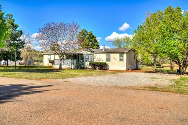 9500 Shady Meadow Way, Newalla, OK 74857 (MLS #861440) :: Erhardt Group at Keller Williams Mulinix OKC