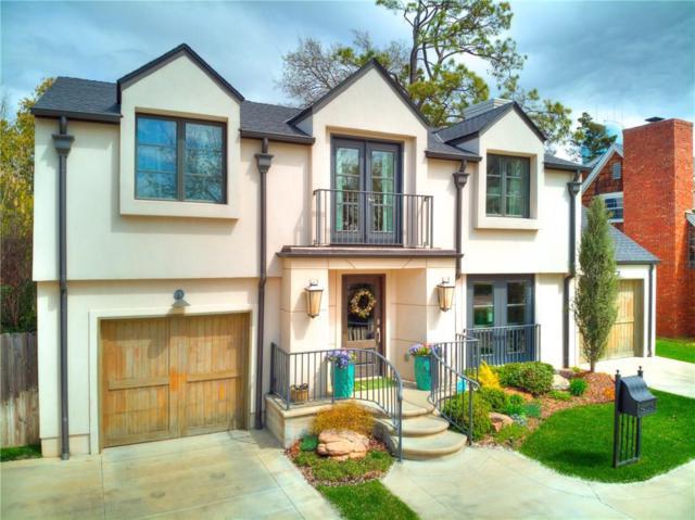 1105 Hemstead Place, Nichols Hills, OK 73116 (MLS #861917) :: Erhardt Group at Keller Williams Mulinix OKC
