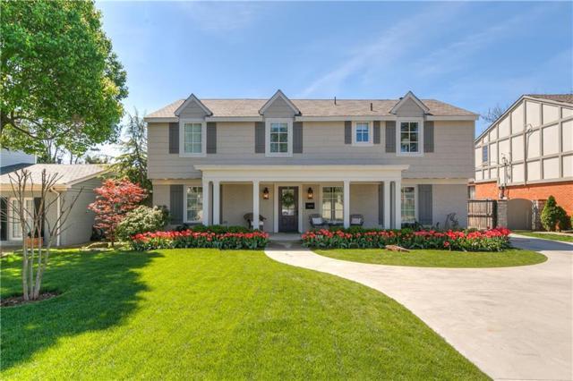 1118 Tedford Way, Nichols Hills, OK 73116 (MLS #862012) :: Homestead & Co