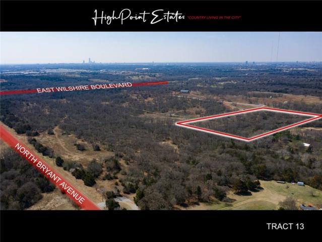 2601 E Wilshire Tract 13 Boulevard, Oklahoma City, OK 73131 (MLS #862091) :: Homestead & Co