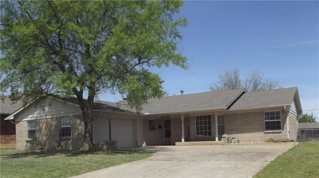 107 N Kimberling Drive, Moore, OK 73160 (MLS #862268) :: Homestead & Co