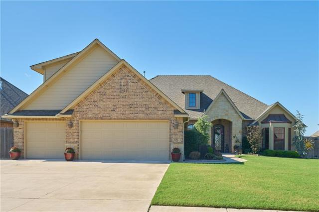 1821 Lago Drive, Moore, OK 73160 (MLS #862458) :: KING Real Estate Group