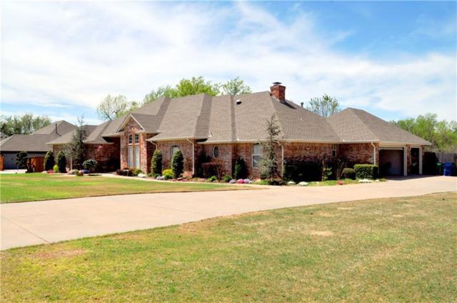 1447 N Bittercreek Terrace, Mustang, OK 73064 (MLS #862666) :: Homestead & Co