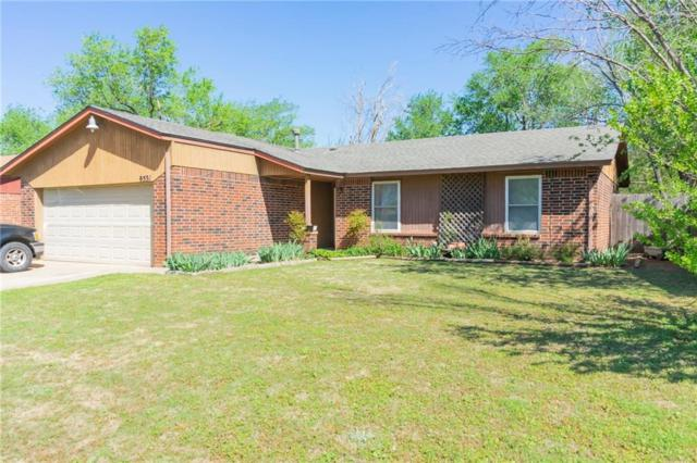 9531 Briarwood Drive, Midwest City, OK 73130 (MLS #862801) :: KING Real Estate Group