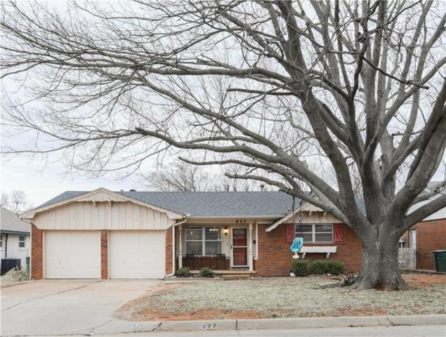 627 Ridgecrest Road, Edmond, OK 73013 (MLS #863203) :: Homestead & Co