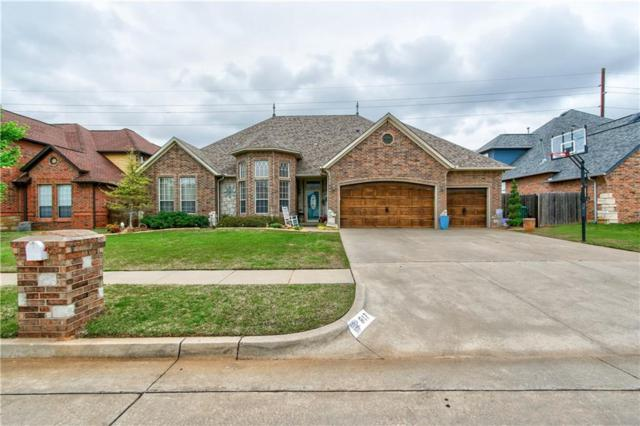 817 Justin Drive, Yukon, OK 73099 (MLS #863457) :: Homestead & Co