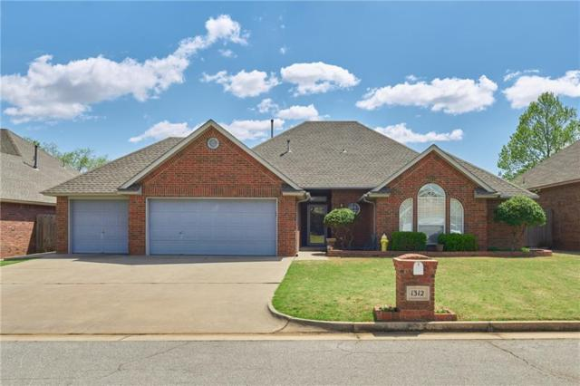 1312 SW 116 Place, Oklahoma City, OK 73170 (MLS #863485) :: Erhardt Group at Keller Williams Mulinix OKC
