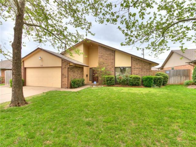717 W Rolling Hills Terrace, Edmond, OK 73012 (MLS #863528) :: Homestead & Co