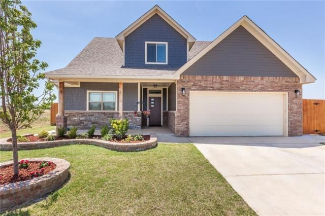 10705 Little Sallisaw Creek Drive, Yukon, OK 73099 (MLS #863615) :: Homestead & Co