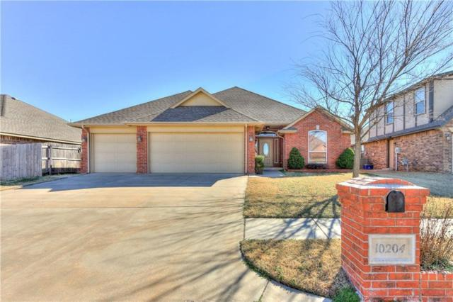 10204 SW 25th Street, Yukon, OK 73099 (MLS #863617) :: Homestead & Co