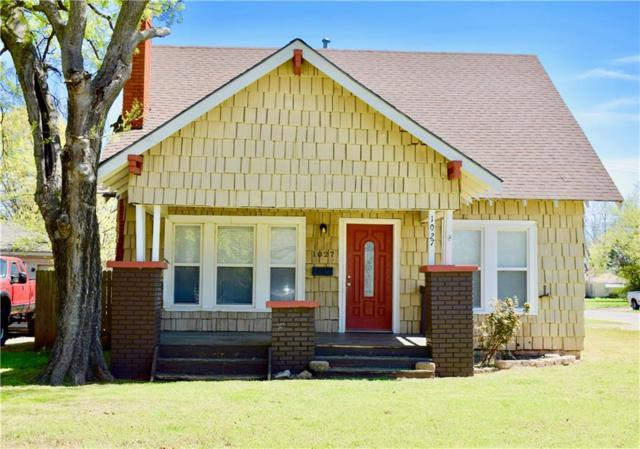 1027 S 18th Street, Chickasha, OK 73018 (MLS #863619) :: Erhardt Group at Keller Williams Mulinix OKC