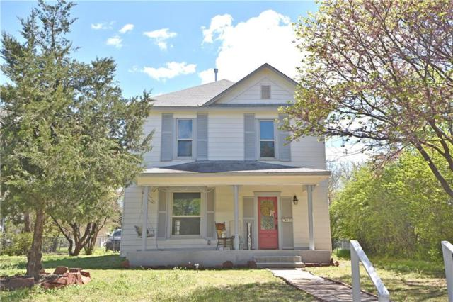 613 E Mansur Avenue, Guthrie, OK 73044 (MLS #863909) :: Denver Kitch Real Estate