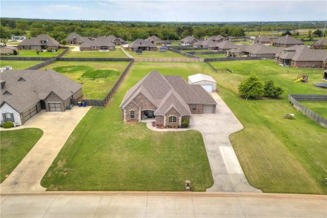 875 Sterling Drive, Choctaw, OK 73020 (MLS #864028) :: KING Real Estate Group