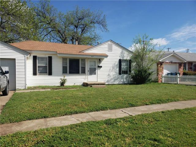 417 Moiselle Street, Midwest City, OK 73110 (MLS #864605) :: Homestead & Co