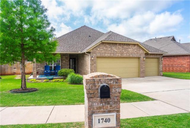 1740 Kamber Terrace, Edmond, OK 73003 (MLS #867067) :: Homestead & Co