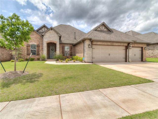 19709 Millstone Crossing Drive, Edmond, OK 73012 (MLS #867111) :: KING Real Estate Group