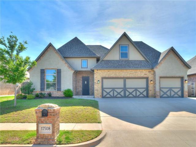 17508 Melville Lane, Edmond, OK 73012 (MLS #867274) :: Homestead & Co