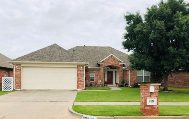 809 SW 160th Street, Oklahoma City, OK 73170 (MLS #868133) :: Denver Kitch Real Estate