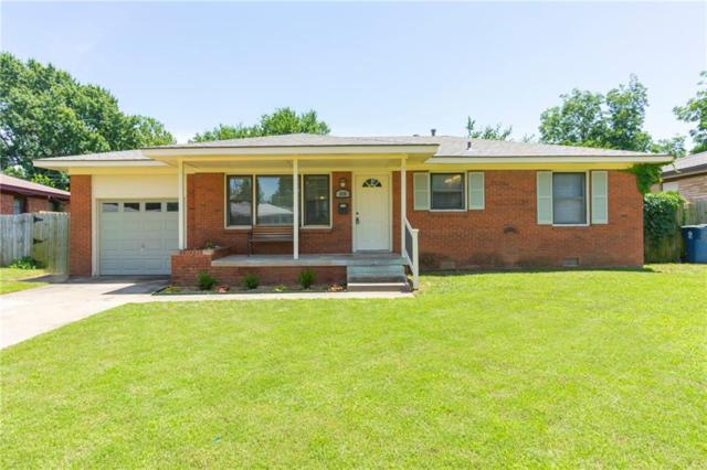 636 E Frolich Drive, Midwest City, OK 73110 (MLS #868978) :: Homestead & Co