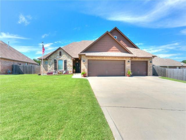 10905 Garrett Cole Drive, Midwest City, OK 73130 (MLS #870635) :: Homestead & Co