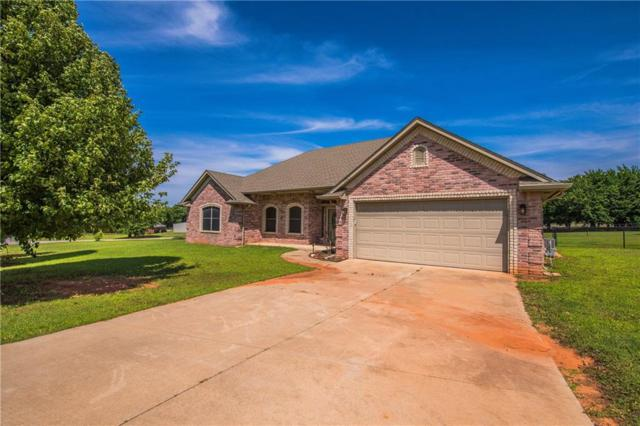 1365 Anna Court, Blanchard, OK 73010 (MLS #870649) :: KING Real Estate Group