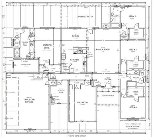 7116 SW 103rd Street, Oklahoma City, OK 73169 (MLS #871045) :: Erhardt Group at Keller Williams Mulinix OKC