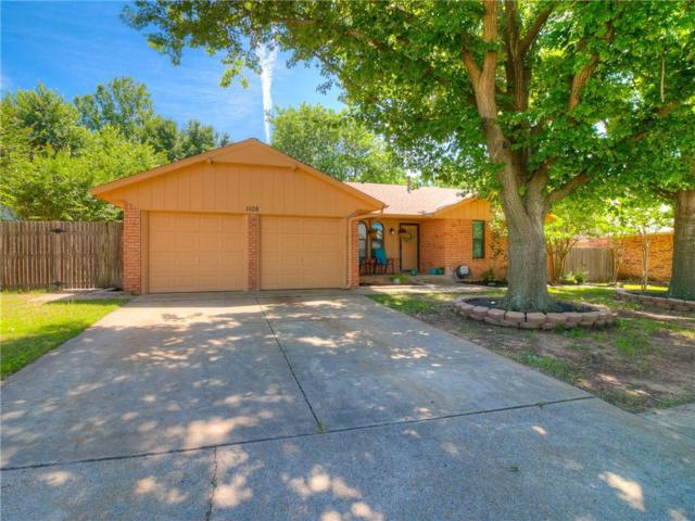 1108 S English Drive, Moore, OK 73160 (MLS #871305) :: Homestead & Co
