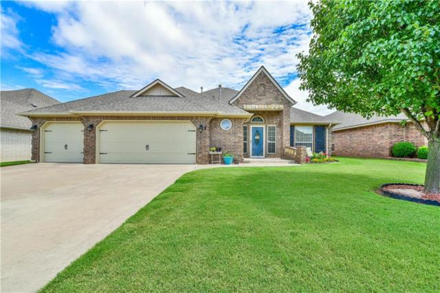 1401 NW 14th Place, Moore, OK 73170 (MLS #871347) :: Homestead & Co