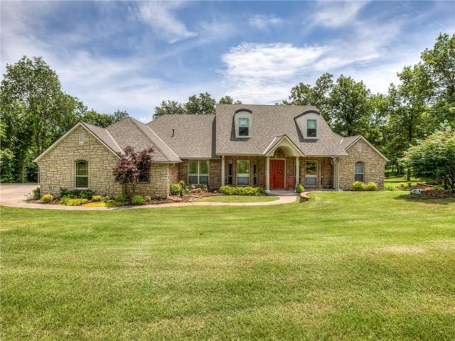 5100 Old School House Road, Choctaw, OK 73020 (MLS #871400) :: KING Real Estate Group