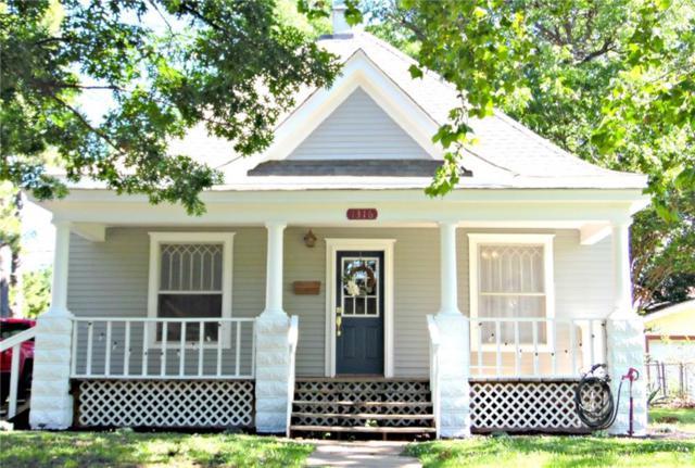 1316 W Kansas Avenue, Chickasha, OK 73018 (MLS #871431) :: Erhardt Group at Keller Williams Mulinix OKC