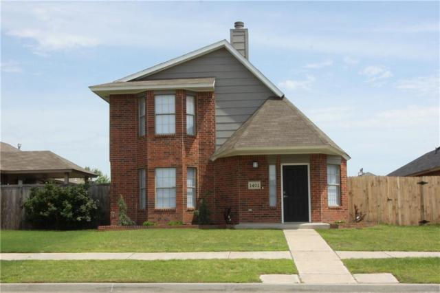 1401 SW 24th Street, Moore, OK 73170 (MLS #871610) :: Erhardt Group at Keller Williams Mulinix OKC