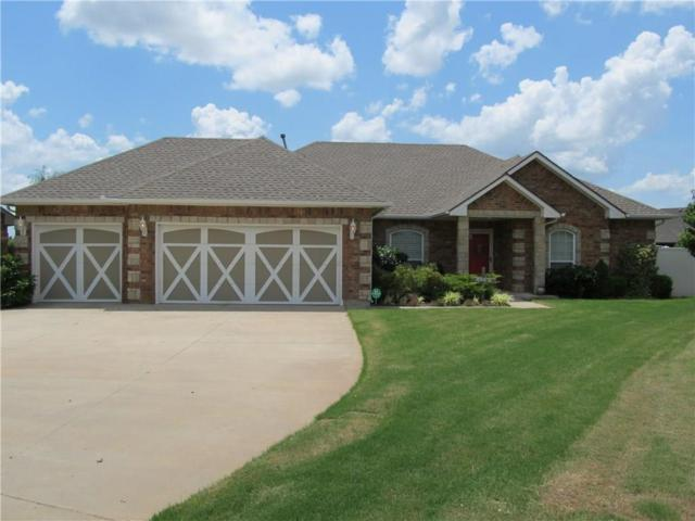 3205 Gabriel Court, Moore, OK 73160 (MLS #871662) :: Erhardt Group at Keller Williams Mulinix OKC