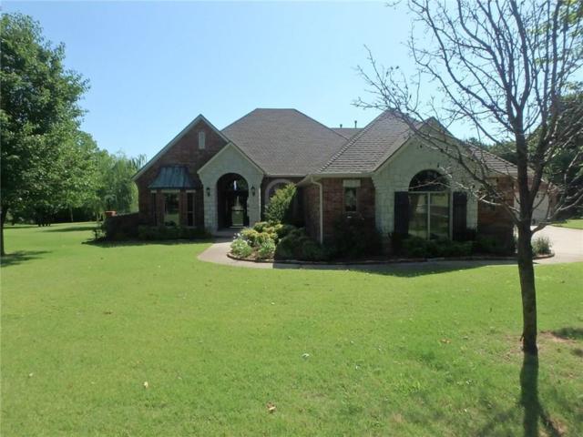 490 Daniel Lee Drive, Choctaw, OK 73020 (MLS #872809) :: Homestead & Co