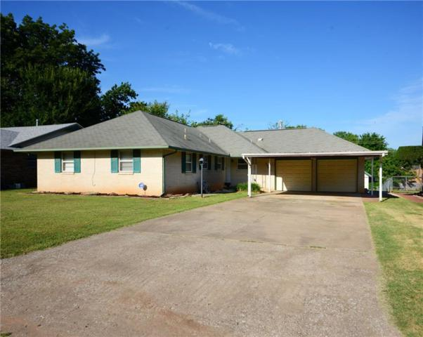 3205 N Peebly Drive, Midwest City, OK 73110 (MLS #875463) :: KING Real Estate Group