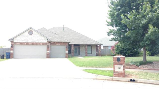 1340 W Onyx Way, Mustang, OK 73064 (MLS #875465) :: KING Real Estate Group