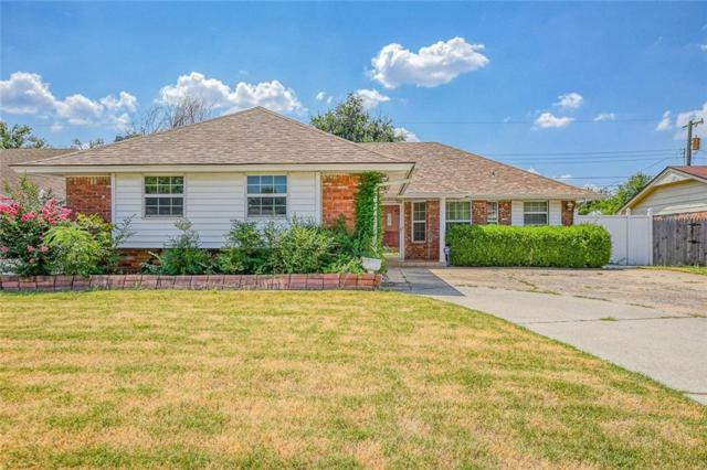 1128 NW 104th Terrace, Oklahoma City, OK 73114 (MLS #878570) :: KING Real Estate Group