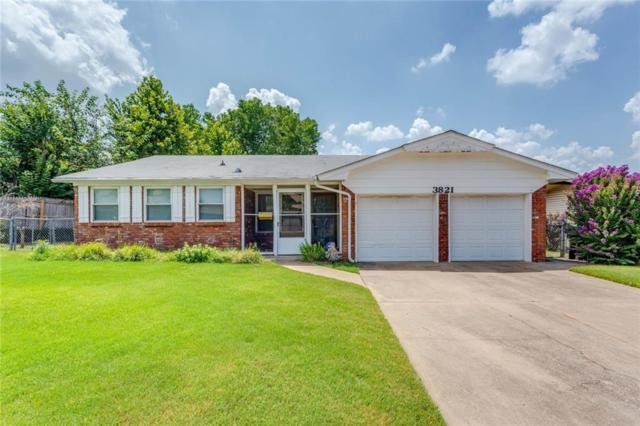 3821 Rosewood Court, Midwest City, OK 73110 (MLS #879494) :: Homestead & Co