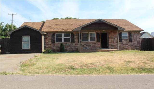 120 E Enid Street, Hinton, OK 73047 (MLS #879542) :: Keri Gray Homes