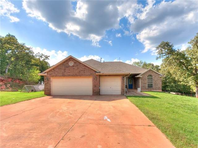 19902 SE 196th Street, Newalla, OK 74857 (MLS #881285) :: Erhardt Group at Keller Williams Mulinix OKC