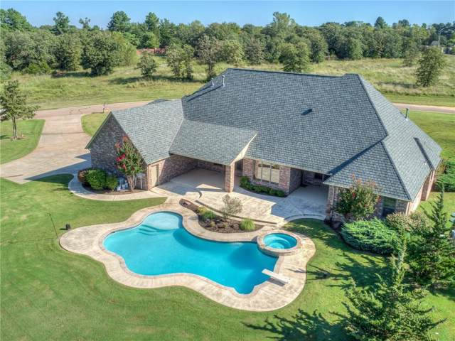 18322 Whitehall Lane, Newalla, OK 74857 (MLS #882999) :: Homestead & Co