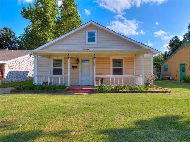 708 W 1st Street, Edmond, OK 73003 (MLS #883101) :: Homestead & Co