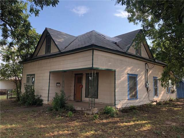 1002 N Pennsylvania Avenue, Mangum, OK 73554 (MLS #883225) :: Homestead & Co