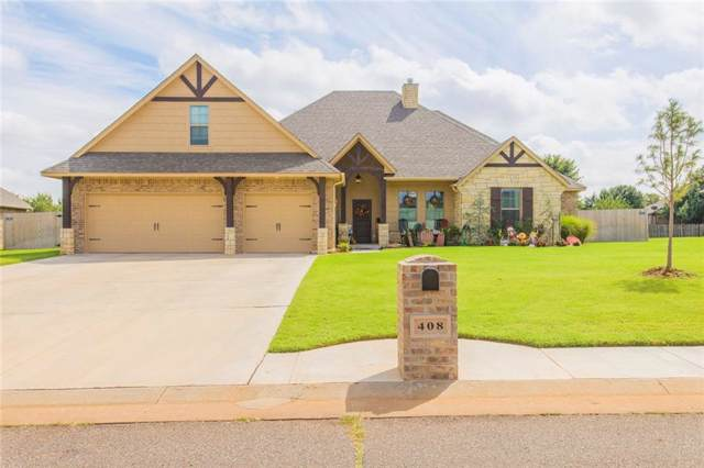 408 Windmill Street, Piedmont, OK 73078 (MLS #883681) :: Homestead & Co