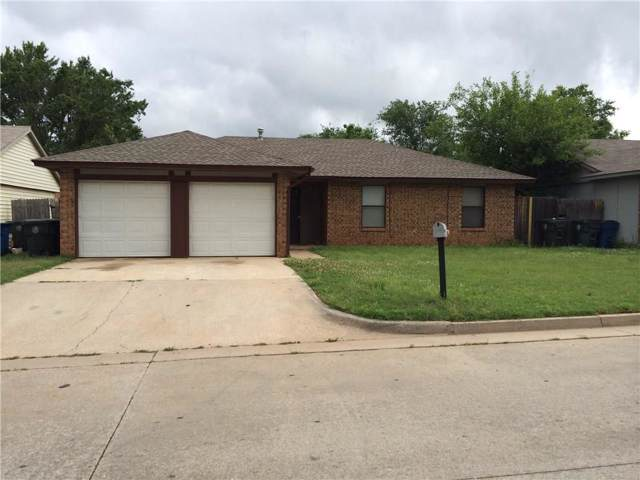 10101 Isaac Drive, Midwest City, OK 73130 (MLS #884000) :: KING Real Estate Group