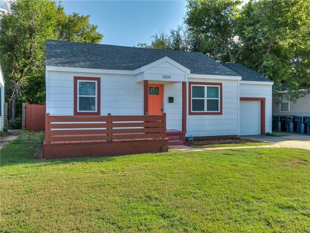 1424 NW 92nd Street, Oklahoma City, OK 73114 (MLS #884070) :: Homestead & Co