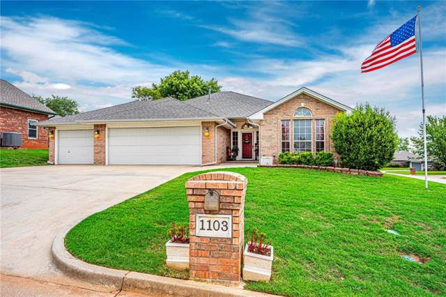 1103 Parkview Circle, Purcell, OK 73080 (MLS #884137) :: Homestead & Co