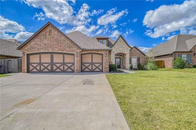805 Samantha Lane, Moore, OK 73160 (MLS #884219) :: KING Real Estate Group