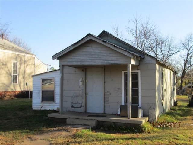 624 W Apache Street, Purcell, OK 73080 (MLS #884231) :: Erhardt Group at Keller Williams Mulinix OKC